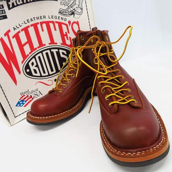 高価買取アイテムのWHITE'S BOOTS/ホワイツブーツ 6 height SMOKE JUMPER/6ハイト スモークジャンパー ブーツ ブラウン 350BMVLTTの買取上限価格は40,000円