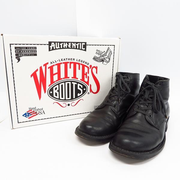 高価買取アイテムのWHITE'S BOOTS/ホワイツブーツ 5 height SEMI-DRESS BLACK/5ハイト セミドレス ブーツ ブラック 2332-Wの買取上限価格は30,000円