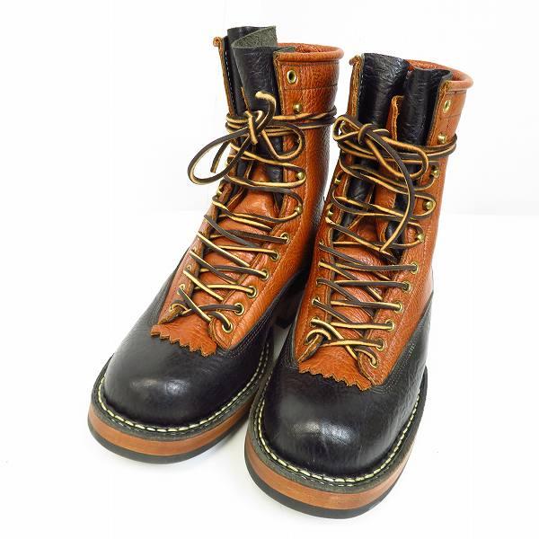 高価買取アイテムのWHITE'S BOOTS/ホワイツブーツ 8 height CUSTOM FARMAER RANCHER /8ハイト 2トーンカラー カスタム ファーマーランチャー375の買取上限価格は40,000円