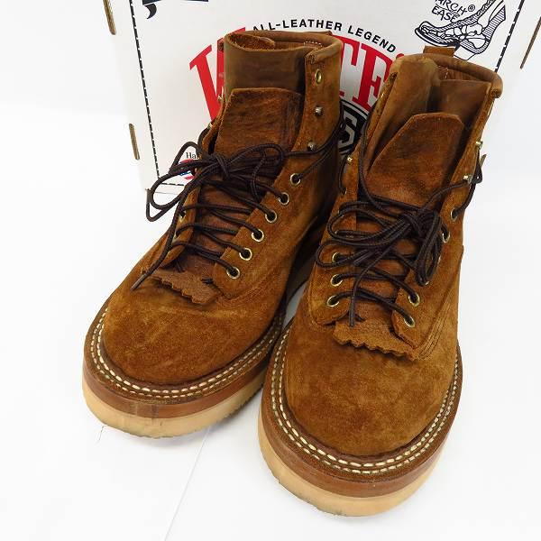 高価買取アイテムのWHITE'S BOOTS/ホワイツブーツ NORTH WEST DIST RO/ノースウェスト スウェードレザー ブーツ 350NWLTTの買取上限価格は32,000円