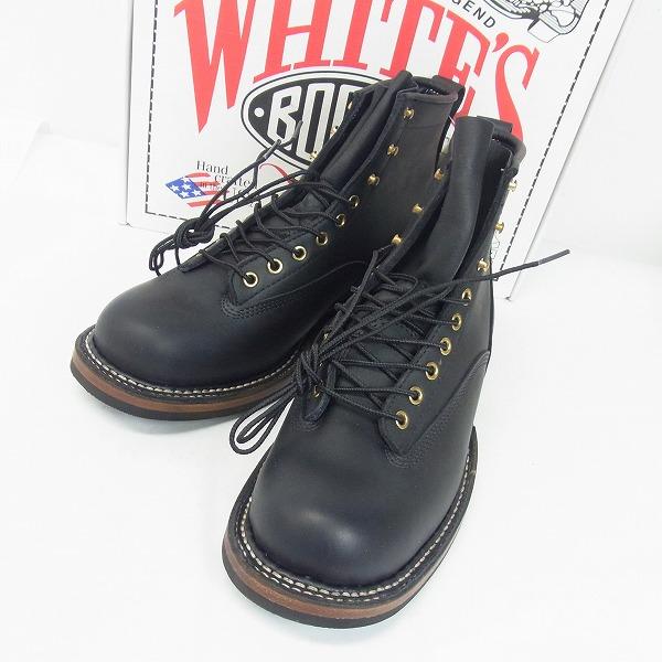 高価買取アイテムのWHITE'S BOOTS/ホワイツブーツ ワックスフレッシュレザー ブラック 350LTT-MVの買取上限価格は30,000円
