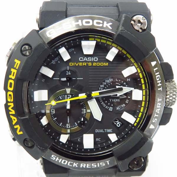 高価買取アイテムのG-SHOCK/Gショック FROGMAN/フロッグマン MASTER OF G - SEA GWF-A1000-1AJFの買取上限価格は40,000円