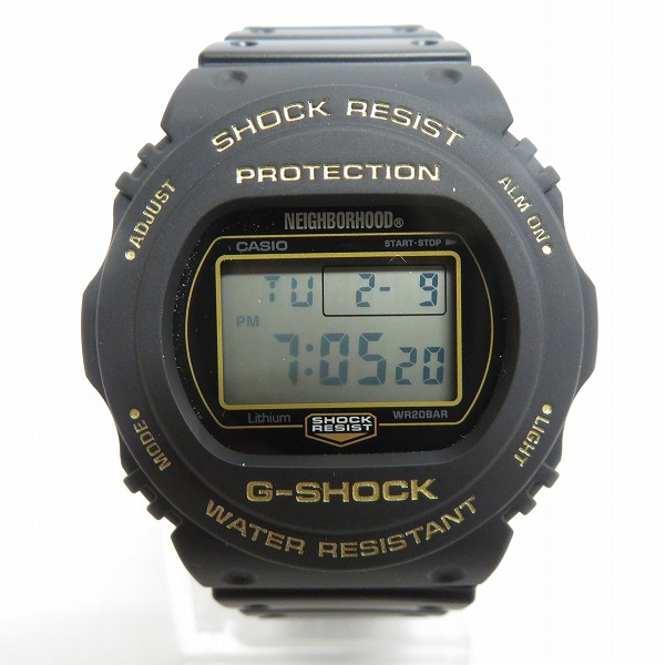 高価買取アイテムのG-SHOCK/Gショック×NEIGHBORHOOD/ネイバーフッド 別注 原点回帰 DW-5750Eの買取上限価格は15,000円