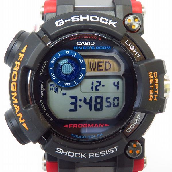 高価買取アイテムのG-SHOCK/Gショック FROGMAN/フロッグマン 南極調査ROV コラボレーションモデル GWF-D1000ARR-1JRの買取上限価格は95,000円