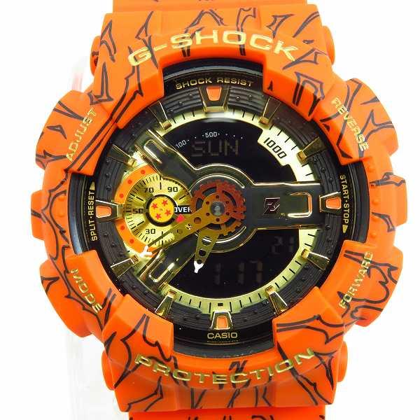 高価買取アイテムのG-SHOCK/Gショック×DRAGON BALL Z/ドラゴンボールZ デジタルアナログ・GA-110シリーズ GA-110JDB-1A4JRの買取上限価格は15,000円