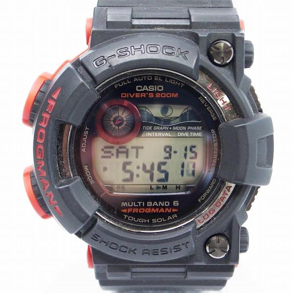 高価買取アイテムのG-SHOCK/Gショック FROGMAN/フロッグマン MASTER OF G GWF-1000BS-1JFの買取上限価格は80,000円